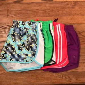 Bundle! 4 Pairs of Danskin athletic shorts